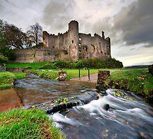 Castle stream by Azza