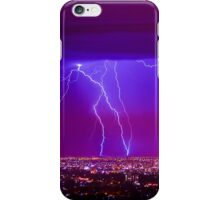 Lightning over Adelaide iPhone Case/Skin