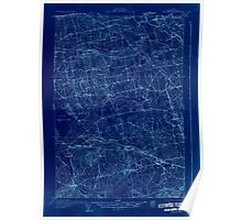 Maine USGS Historical Map Stetson 807688 1931 48000 Inversion Poster