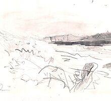 BEACH VIEW(C1998)(C2013) by Paul Romanowski