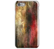 Fall Abstract Acrylic Textured Painting iPhone Case/Skin
