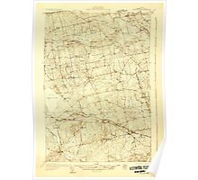 Maine USGS Historical Map Stetson 807688 1931 48000 Poster