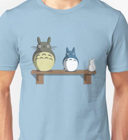 Totoro Nesting Dolls Unisex T-Shirt