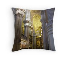Silent Solace Throw Pillow