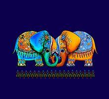 Littlest Elephant Love Links by © Karin (Cassidy) Taylor