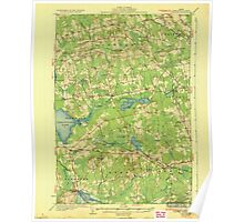 Maine USGS Historical Map Stetson 807689 1935 62500 Poster
