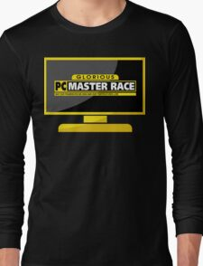 PC Master Race - Monitor Complex Long Sleeve T-Shirt