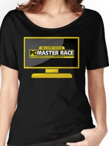 PC Master Race - Monitor Complex Women's Relaxed Fit T-Shirt