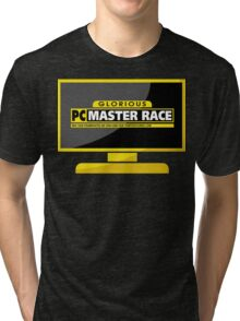 PC Master Race - Monitor Complex Tri-blend T-Shirt