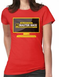 PC Master Race - Monitor Complex Womens Fitted T-Shirt
