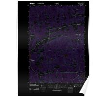 Maine USGS Historical Map Stetson 20110906 TM Inversion Poster