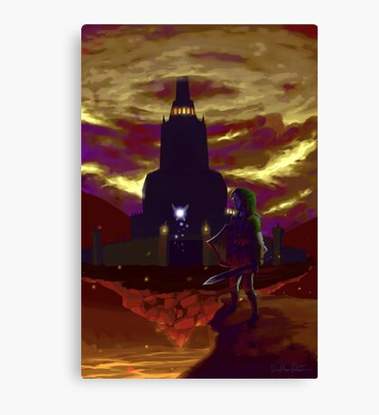 Zelda: Return to Ganon's Tower Canvas Print