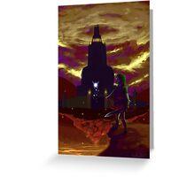 Zelda: Return to Ganon's Tower Greeting Card