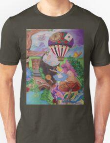 Through the Rabbit Hole Unisex T-Shirt