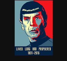 Spock - Lived long and prospered Unisex T-Shirt