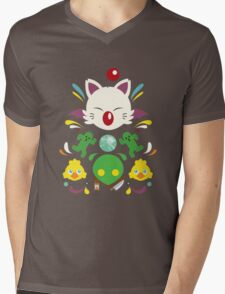Fantasy Cuteness Mens V-Neck T-Shirt