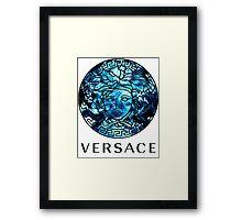 VERSACE-OCEAN Framed Print