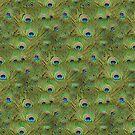 Peacock Legging & Duvet by Matt West
