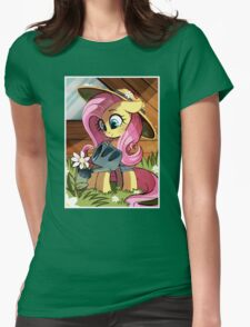 Waterworks fluttershy Womens Fitted T-Shirt