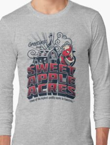 Greetings from Sweet Apple Acres - Variant Long Sleeve T-Shirt