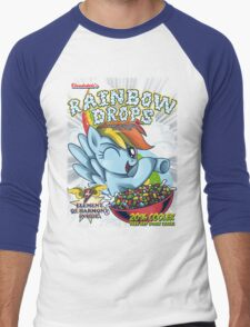 Rainbow Drops - Total Awesome! Men's Baseball ¾ T-Shirt