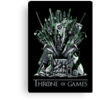 Throne of Games - You Win Or You Die - V2 Canvas Print