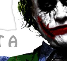 the joker - i'm not a monster Sticker