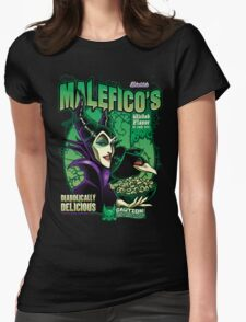 Malefico's - Wicked Flavor In Each Bite! Womens Fitted T-Shirt