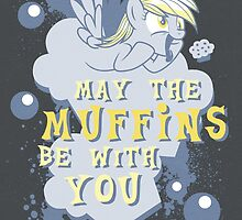 May The Muffins Be With You by Gilles Bone