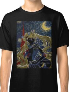 Usagi and the Starry Night Classic T-Shirt