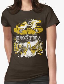 Attack on Moon - Alien Advance Womens Fitted T-Shirt