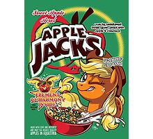 Apple Jacks - Honestly Delicious! Photographic Print