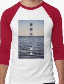 Ocean Sunset Men's Baseball ¾ T-Shirt