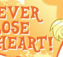 Applejack - Never Lose Heart Sticker