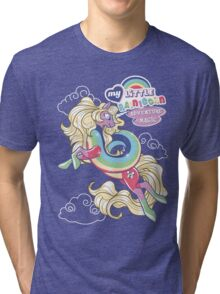 My Little Rainicorn - Adventure Is Magic! Tri-blend T-Shirt