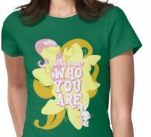 Never Forget Who You Are Womens Fitted T-Shirt