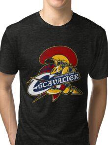 PokeSports - Chargestone Cave Escavalier Tri-blend T-Shirt