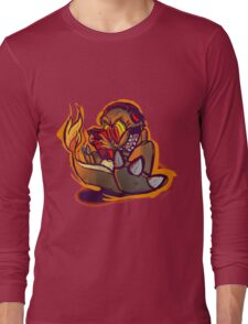Charmander plays LSDJ Long Sleeve T-Shirt