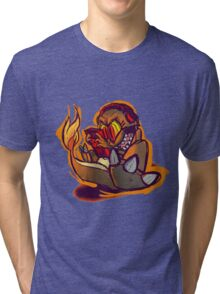 Charmander plays LSDJ Tri-blend T-Shirt
