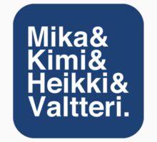 Flying Finns sticker by superlicense
