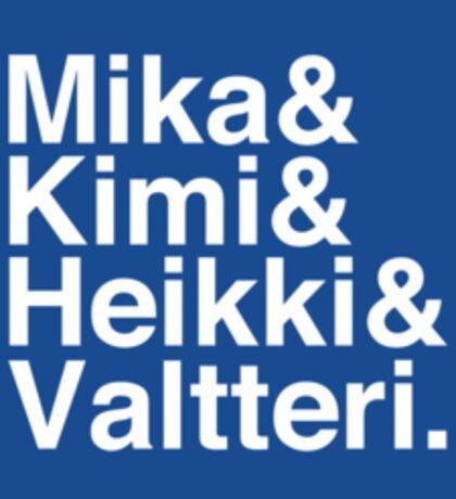 Flying Finns sticker Sticker