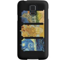 Vincent and The Doctor (Black) Samsung Galaxy Case/Skin