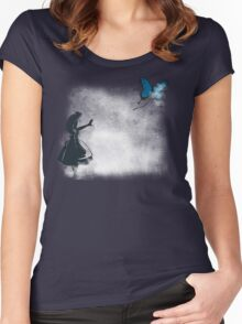 Whooo are you? Women's Fitted Scoop T-Shirt