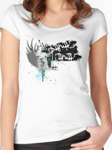 obama llama Women's Fitted Scoop T-Shirt