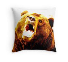 The Bear Throw Pillow