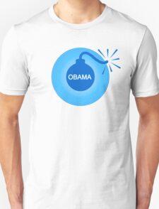 obama : o-bomb Unisex T-Shirt