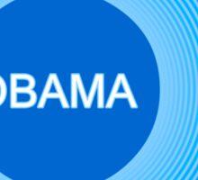 obama : o-bomb Sticker