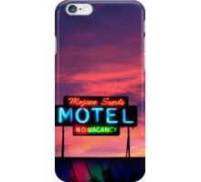 Motel- No Vacancy iPhone Case/Skin