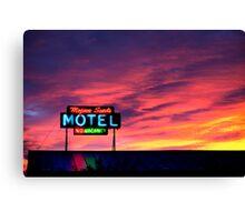 Motel- No Vacancy Canvas Print