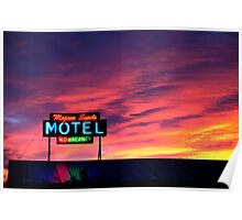 Motel- No Vacancy Poster